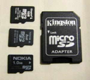 Minőségi memóriakártyák